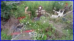 Snowblower attachment simplicity Allis Chalmers garden tractor choice