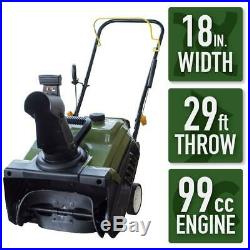 Sportsman Gas Snow Blower 18 in. Single-Stage 210-Degree Adjustable Chute