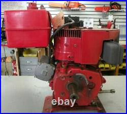 TECUMSEH H70-13146D 7HP ENGINE With120 VOLT ELECTRIC START HORIZONTAL SHAFT USED