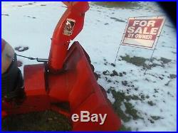 Toro 5XI 48 two stage snowthrower attachment