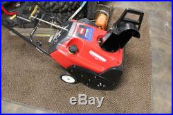 Toro CCR 3650 20in Gas Powered Electric Start Snow Blower