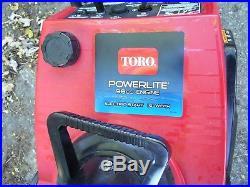 Toro Ccr Powerlite Snowthrower / Snow Blower, Pull Start