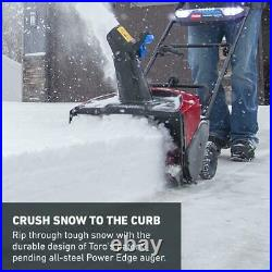 Toro Electric Snow Blower 21 in. 60-V Brushless Cordless 7.5 Ah Battery/Charger