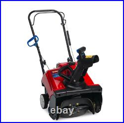Toro Gas Snow Blower 18 in. 99cc Single-Stage Paved Variable Speed Manual Start