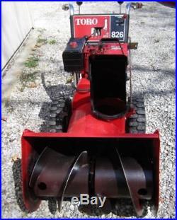 Toro Model 826 2 Stage Snow Blower