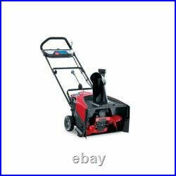 Toro Power Clear 21 in. W Single-Stage Push-Button Start Battery Snow Blower