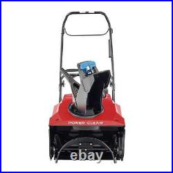 Toro Power Clear 721 E 21 in. 212 cc Single-Stage Self Propelled Electric Start