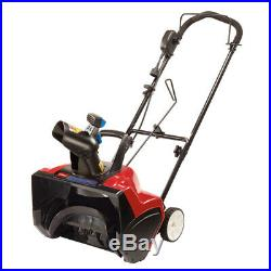 Toro Power Curve 18 in. W Single-Stage Electric Snow Blower