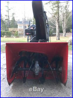 Toro Power Max Snow Thrower 826 LE in excellent condition for just $499