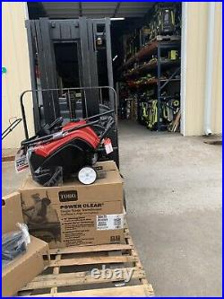 Toro Power clear 518E Gas Snow Blower 18-Inch Single-Stage / electric start
