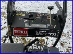 Toro PowerMax 12Hp 32 INCH Snowblower POWERSHIFT 1232 Electric Start