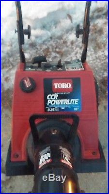 Toro Powerlite electric start snowblower snow blower