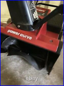 Toro Snowblower -Single Stage With Two Cycle Engine