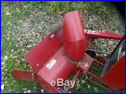 Toro Wheel Horse 42 single stage snowthrower assembly