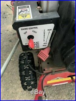Troy-Bilt 21 Electric Start Gas Snow Blower Busby International Surplus