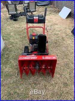 Troy-Bilt 24 208 cc Two-Stage Gas Snow Blower withElectric Start Storm 2410