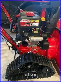 Troy-Bilt 28 2 Stage Track Snow Blower 2890 Barely Used- Warranty through 2021