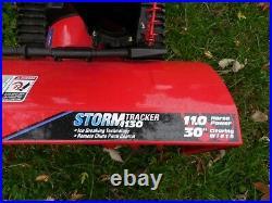 Troy Bilt Snow Blower Storm Tracker 30 Inch 11 HP Electric Start 2 Stage