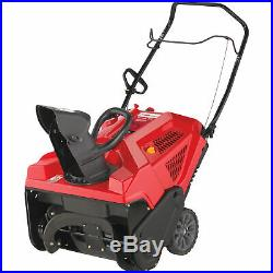 Troy-Bilt Squall 179E Single-Stage Electric-Start Snow Blower-21in -#31AS2S5B766