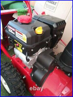 Troy-Bilt Storm 2410 24 Width Two Stage Snow Blower Electric Start new p/u only
