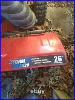 Troy Bilt Storm 8.5HP Electric Start Snow Blower 2 Stage Thrower