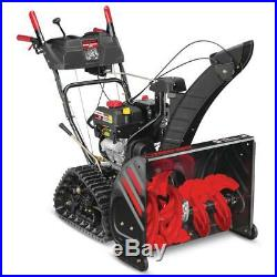 Troy Bilt Two Stage Gas Snow Blower 26 Inch 208 Cc Electric Start Track Drive