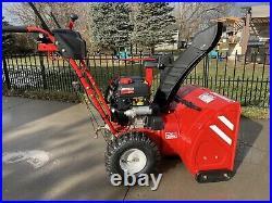 Troy bilt snow blower 2660 208 cc 26 Inch