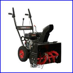 Two-Stage Gas 22 in. Snow Blower Wheel Drive Traction with Recoil Start