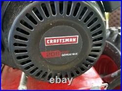 USED THREE TIMES! Sears Craftsman 26 Snow blower Model 247.886940