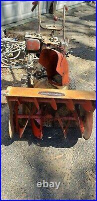 Used AMF Dynamark 2-stage Snow Blower 8hp gas engine