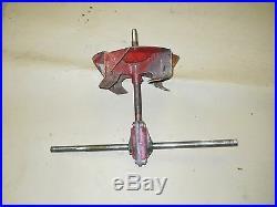 Used Snapper Snowblower Gear Housing Assy with Fan 49728 / Shaft 29554 / Gear Box