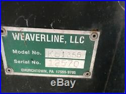Used Weaverline Bale Chopper Honda Engine Kb1355 No Hose