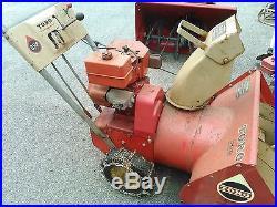 Vintage Toro 526 Snow Blower