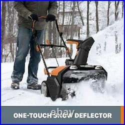WG471 40V (2X20V) 20 Cordless PowerShare Snow Thrower with Brushless Motor