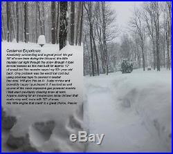 XPUSA 18 1600W 13 Amp Electric Snow Blower Thrower Throws Snow 30' 180 Degree