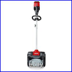 Xd 82-Volt Max Cordless Electric Snow Shovel Kit With 12 In. Clearing Width, Inclu