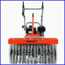 YARDMAX (28) 208cc All Season Power Brush