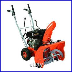 YARDMAX Gas Snow Blower 2 Stage Multiple Speed Axe Shaped Outdoor Snow Removal