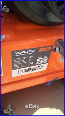 YARDMAX YB6270 Two-Stage Snow Blower LCT Engine 7.0HP 208cc 24