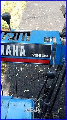 Yamaha snow blower