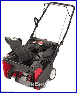 Yard Machines 21-Inch Single Stage 4-Cycle Gas Powered Snow Thrower