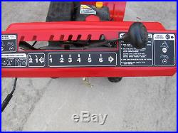 Yard Machines 24 2-Stage Snow Blower Snow Remover For Sidewalks And Driveways
