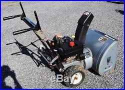 Yard Machines 24 Width, Self Propelled, 2-Stage Snowblower 8 HP Engine