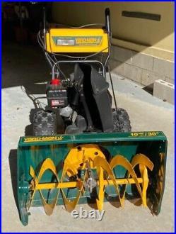 Yardman 10HP Electric Start Snow Blower/Snow Thrower Works Great