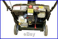 Yardman Snow Thrower 179cc 4 Cycle engine Electric Start, 21 Width YM179SM21ES