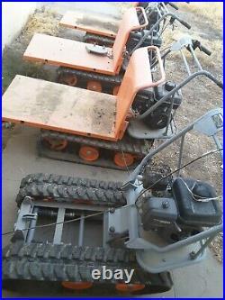 Yardmax YD8203 track yard carts, 4, they all need work