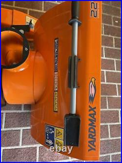 Yardmax Yb5765 Two-Stage Snow Blower, 6.5 Hp, 196Cc, 22